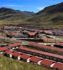 Prior to Chinalco s purchase of this project, the Peruvian government was expected to build a new town for the residents, but Chinalco took on the obligation as part of the investment.