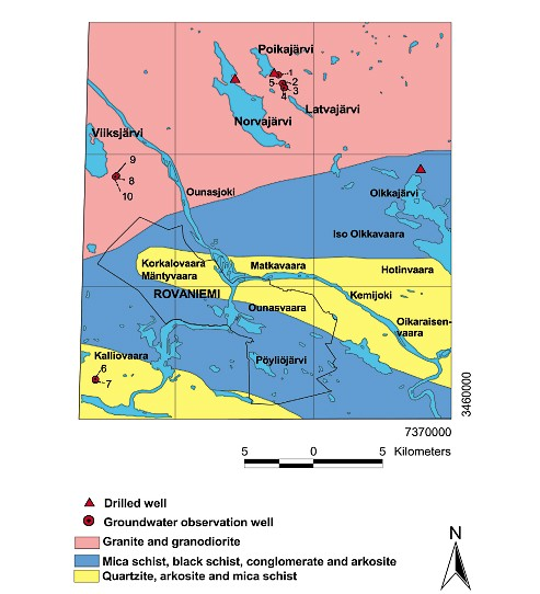 Geological Survey of Finland, Bulletin 400 Groundwater and factors affecting its quality: examples from the Rovaniemi district of Northern Finland and western Nicaragua 19 Olkkavaara (231 m),