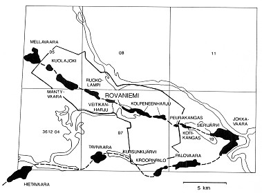 Geological Survey of Finland, Bulletin 400 Groundwater and factors affecting its quality: examples from the Rovaniemi district of Northern Finland and western Nicaragua 23 Fig. 5.