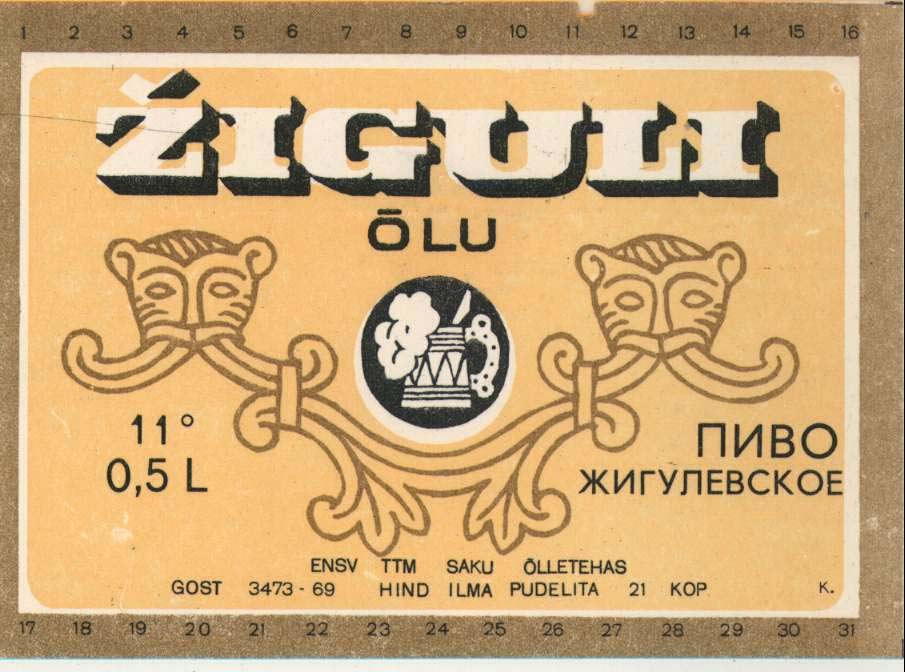 ESTONIAN BEER MARKET BEFORE SAKU ORIGINAAL BEFORE SAKU PRIVATIZATION BY BBH THE PREDOMINANT BEER BRAND IN ESTONIA WAS ZIGULI SHELF LIFE 7 DAYS CONSUMERS
