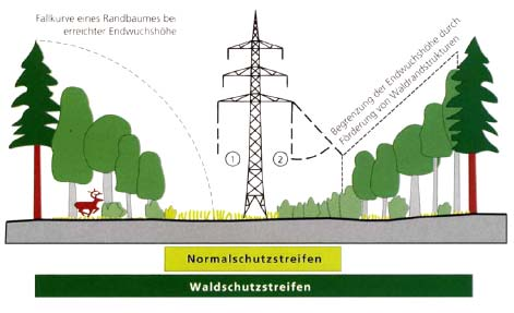 Environmental impacts of overhead lines Fig. 34: Costs for the maintenance of the line (Source: RWE, 2005). 5.