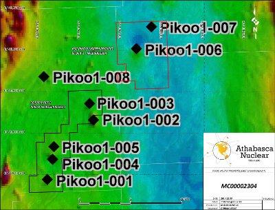 The Pikoo North Diamond Property* *Acquisition subject to TSXV approval. Approx. 3,288 acres covering 2 claims. Located within Pikoo Diamond Camp in the Sask Craton region.