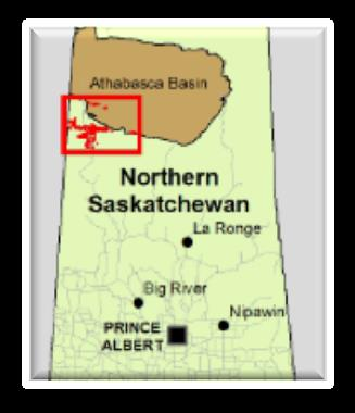 250,000+ Acres in SW Athabasca Basin.
