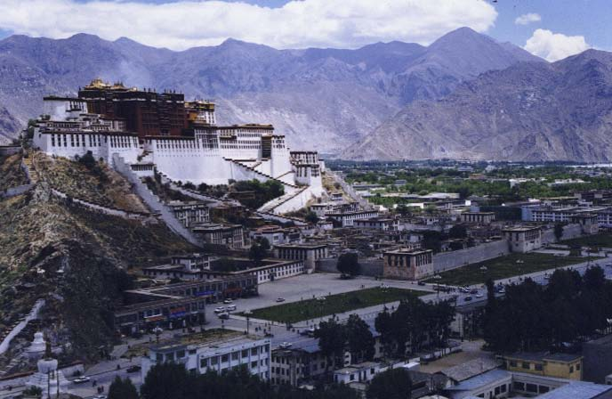 In summer 1995, over 140 Tibetan families residing in