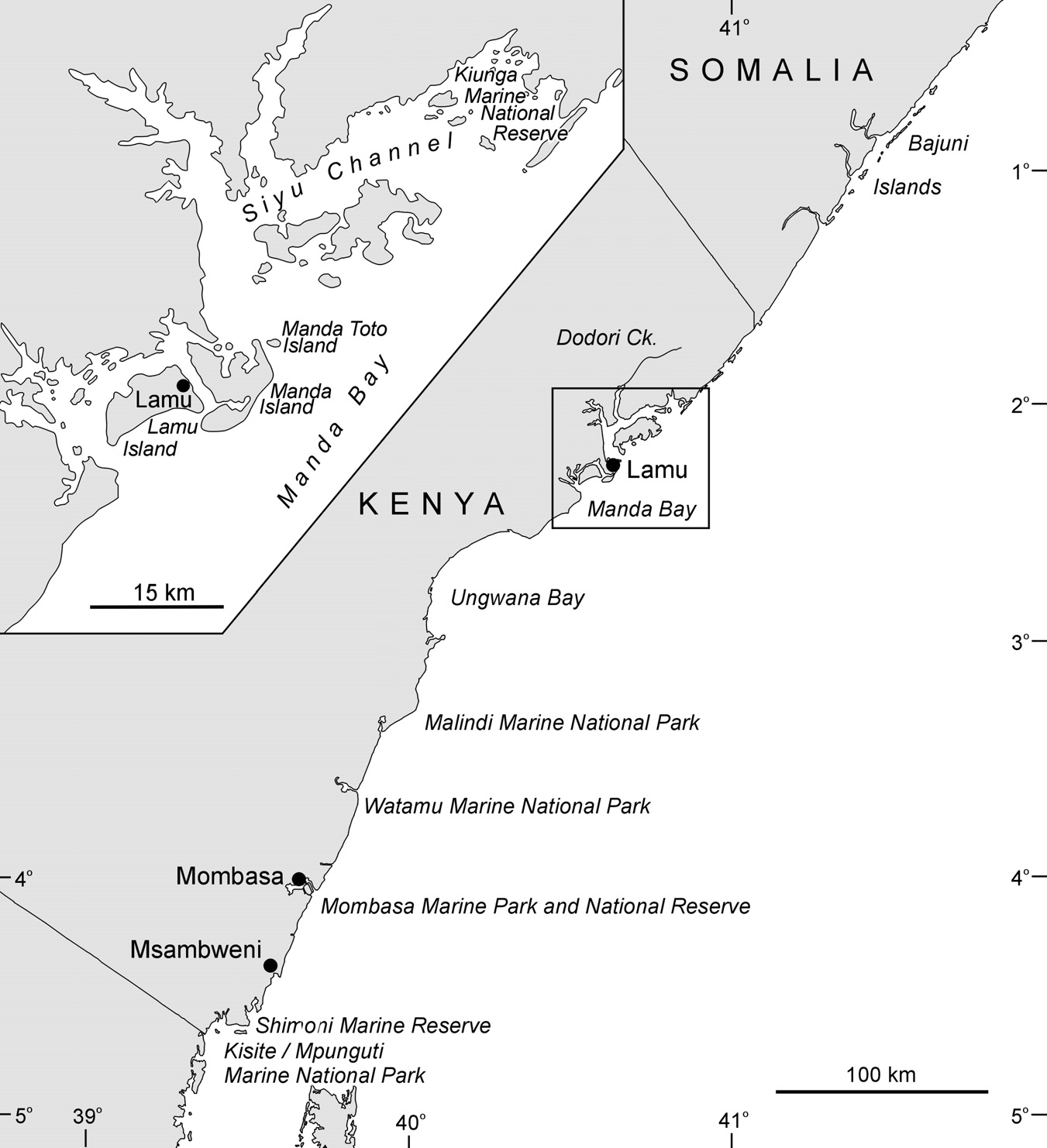 Dutton (1994) considered that the waters around the Bazaruto Archipelago supported the last viable dugong population along the East African coast.