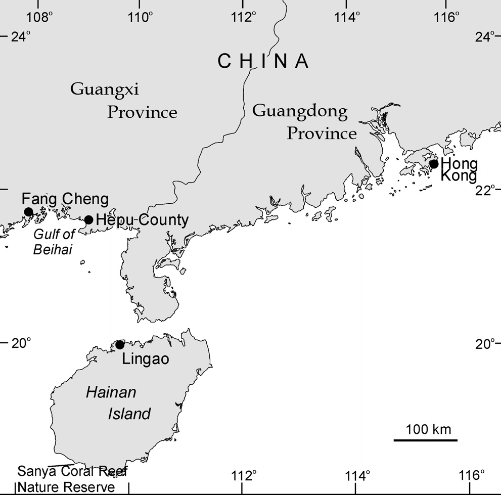 CHINA Distribution and Abundance The status of dugongs in Chinese waters is unknown and the extent of their distribution is uncertain.