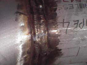 5. Welding Heat Tint Heat tint is the result of the thickening of the naturally occurring transparent oxide layer on the surface of the steel.