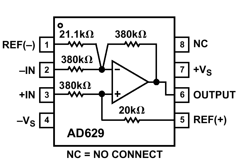 HARDWARE AND HOUSEKEEPING TECHNIQUES OP AMP PROTECTION maximum input voltage is ±35V.