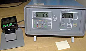 Stopwatch and Timer Calibrations For example, if a frequency counter is used, the measurement reference is the time base oscillator of the frequency counter.