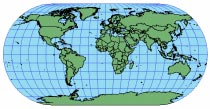 ECKERT III Useful only as a world map. Suitable for thematic mapping of the world. PROJECTION PARAMETERS The central meridian is 0. This pseudocylindrical projection is used primarily for world maps.