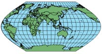 ECKERT V Suitable for thematic mapping of the world. PROJECTION PARAMETERS Projection Engine: ArcMap, ArcCatalog, ArcSDE, MapObjects 2.x, ArcView Projection Utility Supported on a sphere only.
