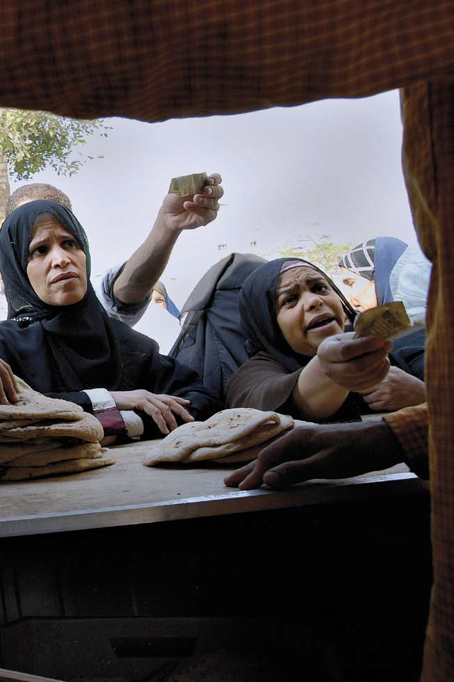 Expectations and Visions Buying subsidised bread. Boulaq al-dakrour. Mission Possible?
