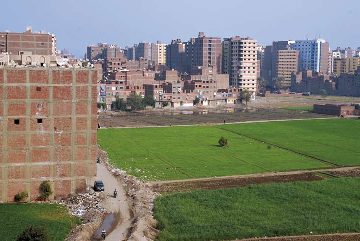 About Cairo and its Informal Areas Beyond Rules and Regulations: The Growth of Informal Cairo The area Kafr al-turmus from above. Boulaq al-dakrour.