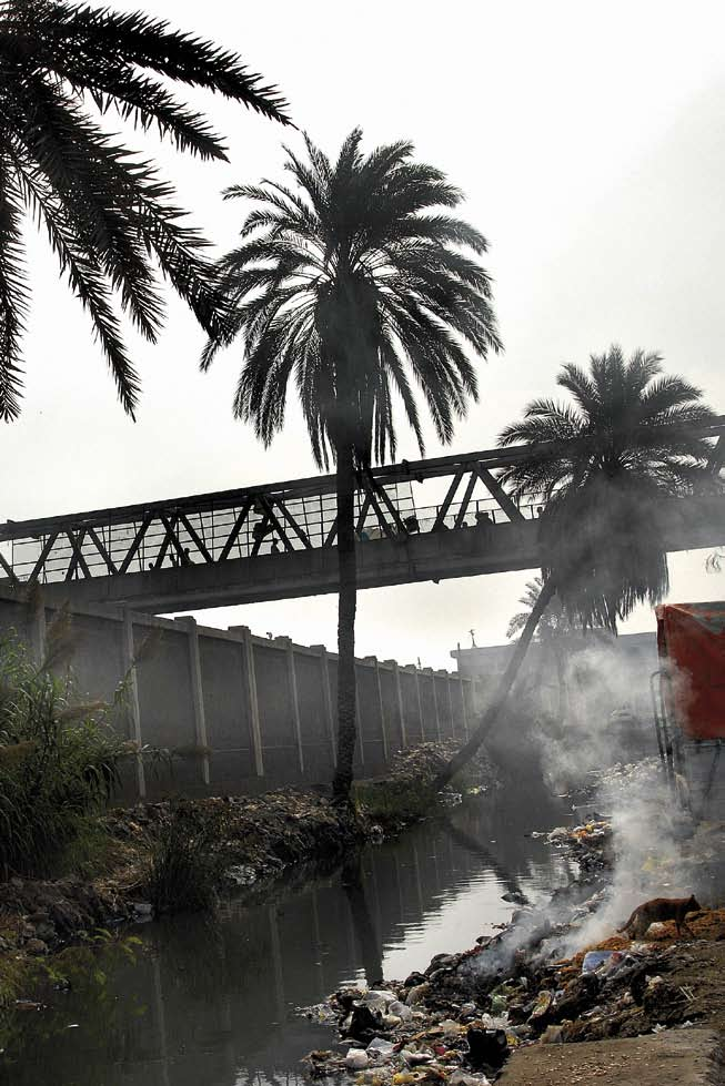 Daily Life in Informal Areas Polluted canal. Boulaq al-dakrour. Problems to Face by JULIA GERLACH 074 Manshiet Nasser is not what it used to be, or at least that is what Said Ramadan thinks.