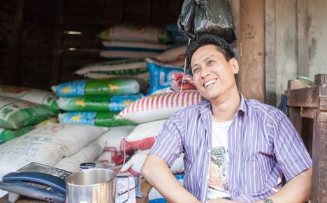FINANCIAL SNAPSHOT: SOE MOE AUNG (IN KYAT) INCOME EXPENSES INVESTMENT Earnings from 23,000,000 store (annual) Interest earned 18,000,000 from lending (annual) Estimated Total 41,000,000 Income