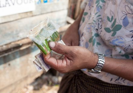 Case Study: The Betel Business Case Study: The Betel Business Scattered on the sidewalks of Myanmar are splatters of copper-red goo.