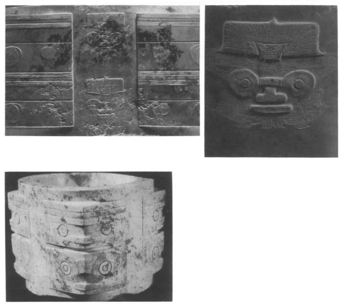 CHINA ON THE EVE OF THE HISTORICAL PERIOD 63 Figure 1.9. Liangzhu jades engraved with shamans animals. Upper left: A cong from Yaoshan, Yuyao, Jiangsu.