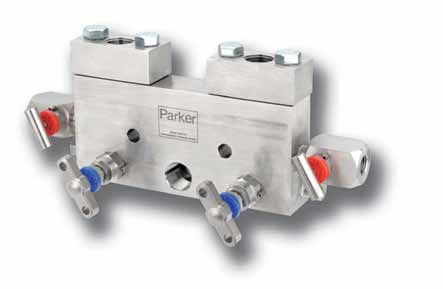 Flanged connected static pressure manifolds Purpose These manifolds are designed for fast and efficient installation and removal of pressure measurement instruments.