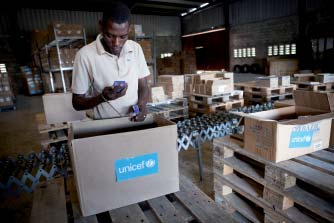 UNICEF Operational Commitments Underlining the critical role of UNICEF in providing lifesaving and life-sustaining supplies for children, the value of procurement in 2010 increased more than ten-fold