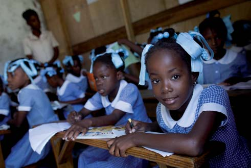 Fast facts on UNICEF Programme Delivery Education UNICEF/Haiti2011/Dormino More than 80,000 children are now learning in 193 semi-permanent schools constructed by UNICEF since the earthquake Some