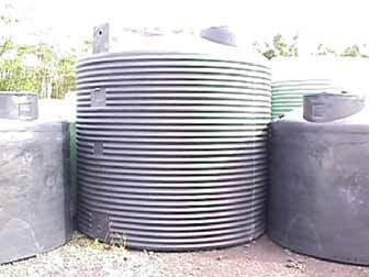 Polyethylene tanks are new to the market. They are lightweight, easy to relocate, and can be made out of food-grade materials.