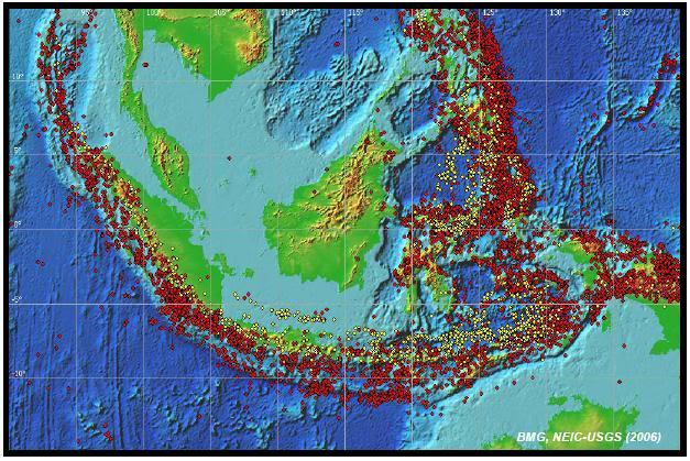 Earth Quake Risk in Indonesia