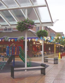 quality urban design, leading to increased local pride in the town centre.