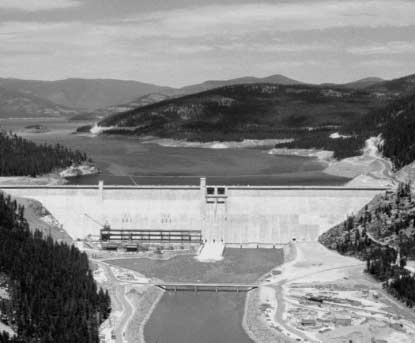 IV. System Operation The Big Picture Libby Dam, completed in 1975, is the key to controlling high spring runoff on the Kootenai River in Montana. A.