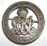 The badge, sometimes known as the Discharge Badge, Wound Badge or