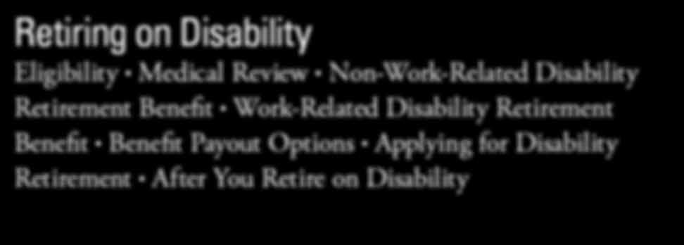 You are not eligible to retire on disability if you are a state employee covered under VSDP, you defer retirement or you take a refund of your member contributions and interest.