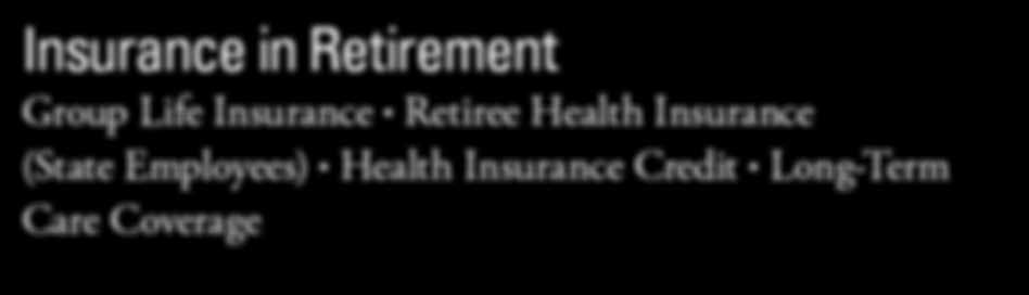 Your coverage will end if you have not met the age and service requirements for retirement or you take a refund of your member contributions and interest.