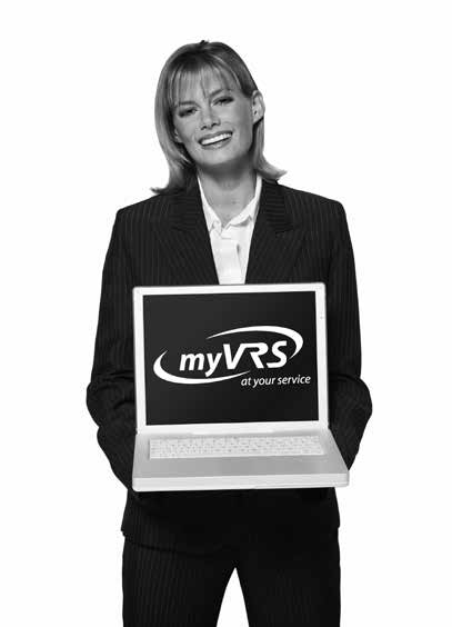 Assistance with myvrs Select myvrs Help from the bottom of any screen for general information.