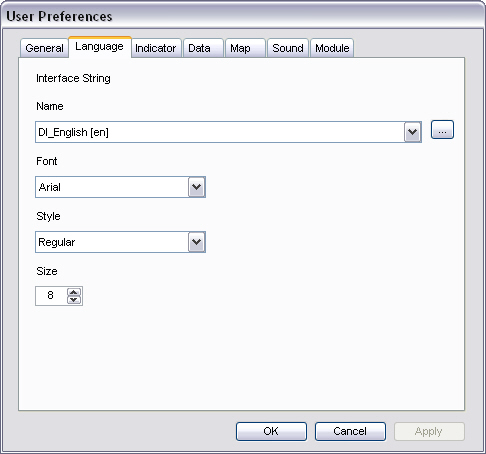 Auto-Select Filter Options Instructs the application to display or hide the Auto-Select Filter button.