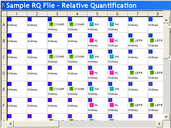 Chapter 4 Creating RQ Plates and Generating Data About RQ Plate Documents plate, do not omit the wells from use at this point. You can omit unused wells after the run.