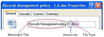 Version control for records The means of indicating a current version of a record in any system is difficult.