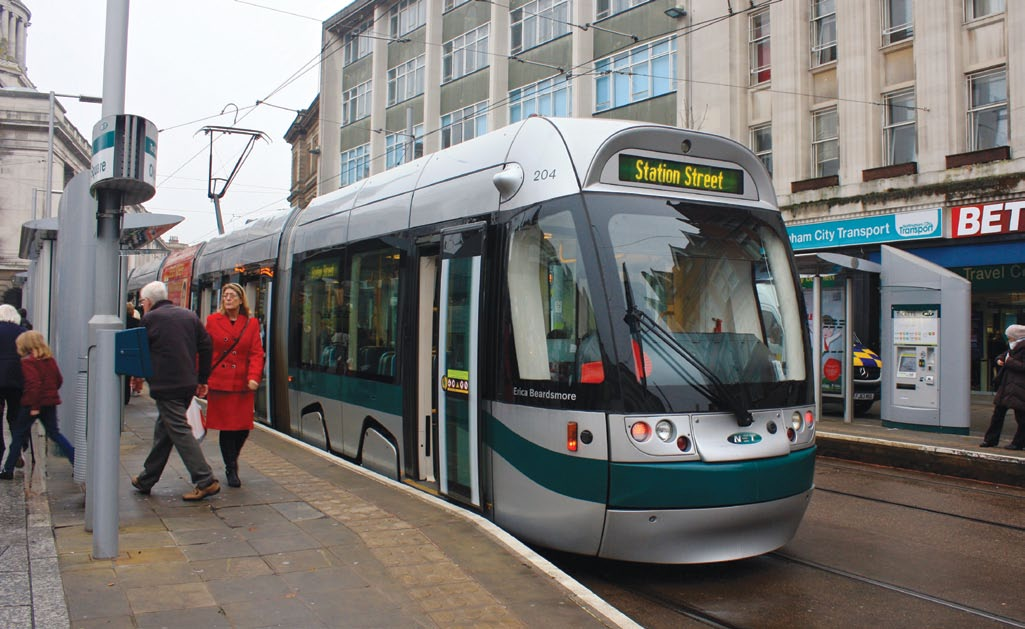 Example: Nottingham tram extension Nottingham s tram system (Nottingham Express Transit (NET)) has demonstrated the economic and regenerative benefits of investing in high quality public transport.
