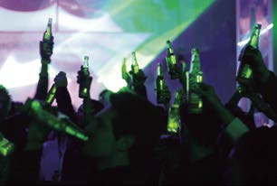 Heineken Ignite Products themselves can be enhanced by technology to provide better experiences or even, in the case of Heineken, become part of the party.