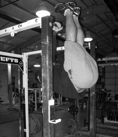 Hanging Leg Raises These are popular with people who want to improve their ability to swing their legs and knees up while doing nothing for their abs, yet still want to call it ab work.