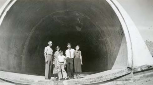 CHAPTER 3: HIGHLIGHTS OF PAST DROUGHTS Construction of MWD s Colorado River Aqueduct in the 1930s, tunneling through the San Jacinto Mountains. Photo courtesy of Banning Library District.