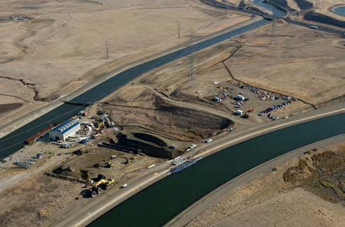 CHAPTER 4: COMPARISON OF RECENT CONDITIONS TO PAST DROUGHTS AND LESSONS LEARNED A $29 million intertie was completed in 2012 to link the SWP s California Aqueduct and the CVP s Delta-Mendota Canal,