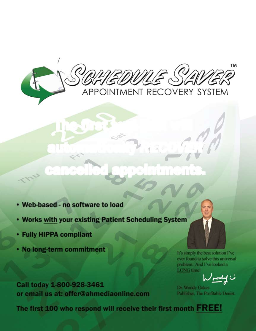 Request a FREE sample* of SpeedCEM today! PRSRT STD U.S. Postage Paid Louisville, KY Permit No. 354 Log on to ivoclarvivadent.