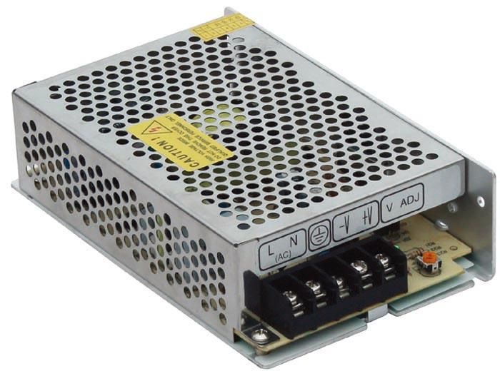 A-60 60W Single Output Switching Power Supply Low cost,high reliability Built-in EMI filter Low output ripple&noise Protections:Over load/short circuit 1 year warranty CASE: 806; Size:159 98 42 AC