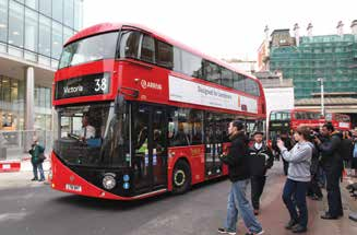 Therefore, London relies on its IT systems for vehicle tracking and reporting, service control, on-board information, mileage tracking and performance measurement of its bus network that services