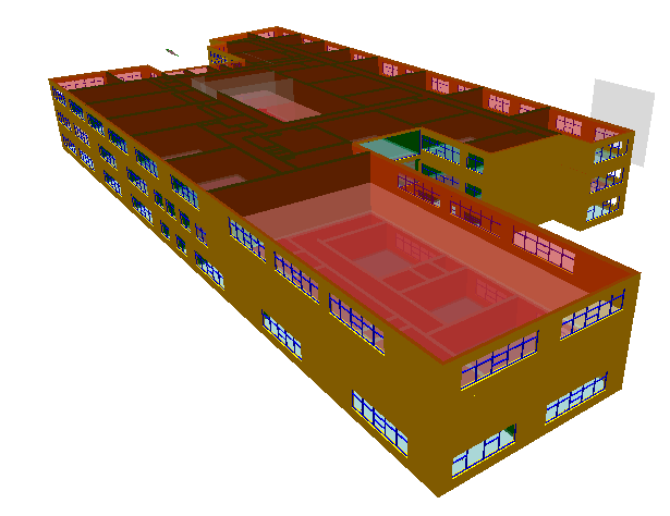WillowfieldSchool BIM and Sustainability Energy and environmental analysis have been undertaken The model