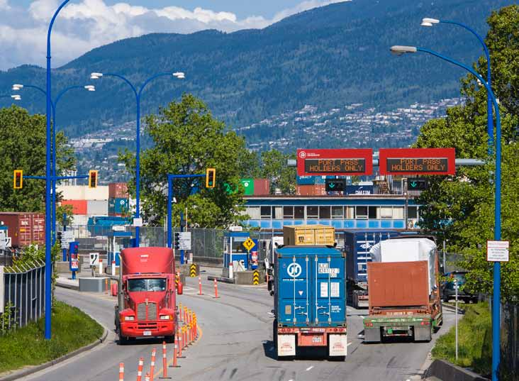 ECONOMIC PROSPERITY THROUGH TRADE Land Use and Availability Competition for land in the Lower Mainland is intensifying as a result of regional growth.