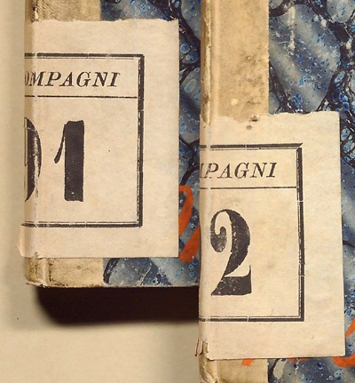 ca Note: Boncompagni manuscripts usually have the 1862 number on the spine in ink, and the 1892 number on a small pasted-on label on the spine, with the word Boncompagni across the top.