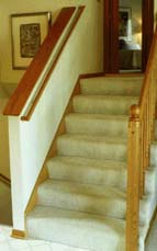 STAIRS AND STEPS: Look at the stairs you use both inside and outside your home.