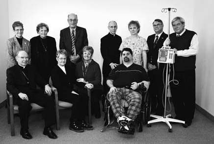 The Catholic Archdiocese of Kingston made a $200,000 donation to support the redevelopment of Hotel Dieu Hospital and Providence Care two proud Catholic traditions of serving the sick and needy in