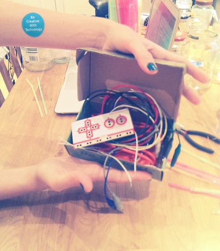 Open your MaKey MaKey kit with excitement