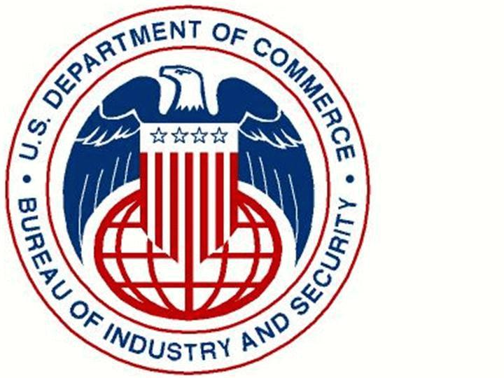 U.S. DEPARTMENT OF COMMERCE BUREAU OF INDUSTRY AND SECURITY OFFICE OF EXPORTER SERVICES EXPORT MANAGEMENT AND COMPLIANCE